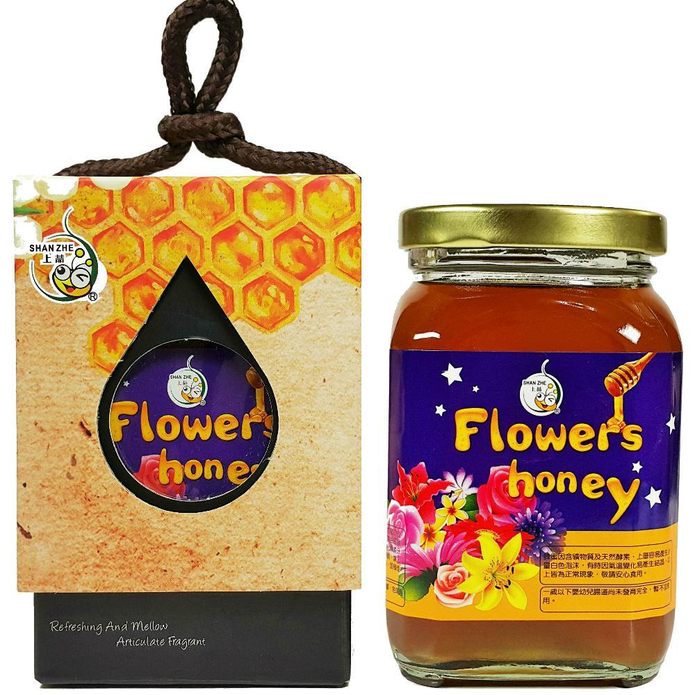 [上喆蜂蜜]百花蜜-350g(1入禮盒)