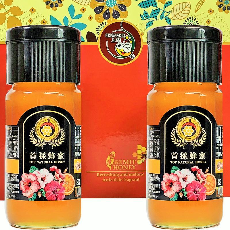 [上喆蜂蜜]首採蜂蜜禮盒-700g(2入)