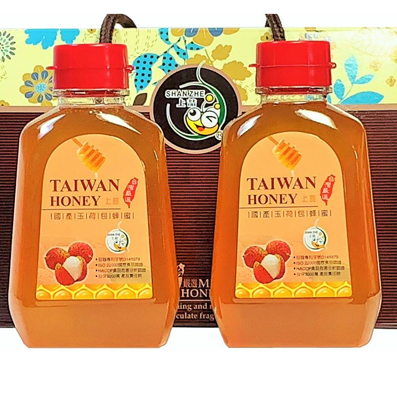 [上喆蜂蜜]國產玉荷包蜂蜜禮盒-460g(2入)