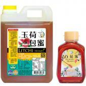 [上喆蜂蜜]玉荷包蜂蜜-3000g